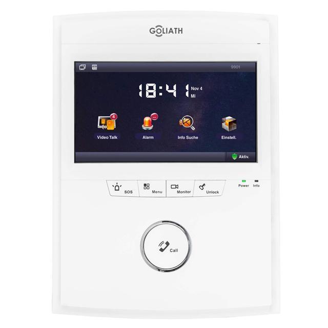 ip video t rsprechanlage mit 7 lcd full touchscreen. Black Bedroom Furniture Sets. Home Design Ideas